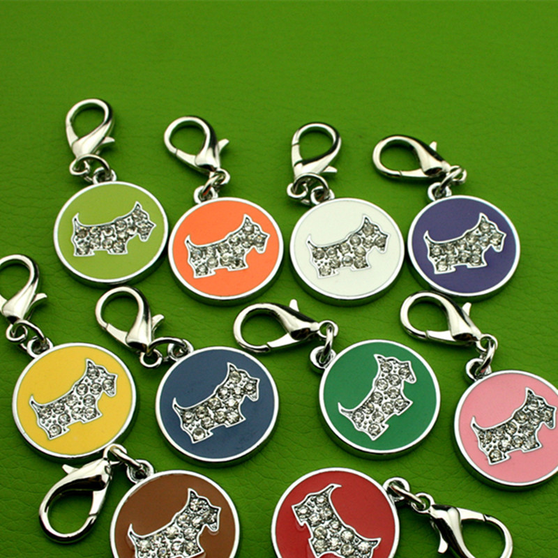 2018 Hot Sale Dog or Cat ID Tags Engraved or QR Code Pet Tag